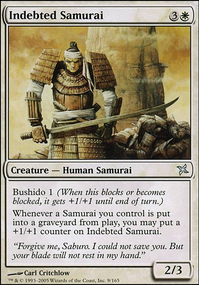 Indebted Samurai