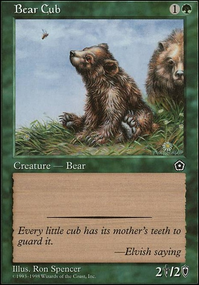Bloodcrazed Bear by Tramplefoot | MTG Cardsmith