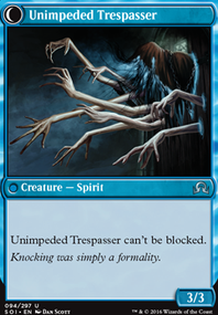 Unimpeded Traspasser