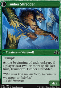 Timber Shredder