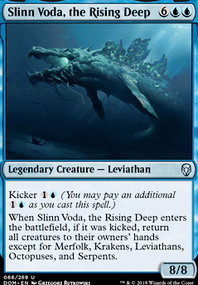Slinn Voda, the Rising Deep