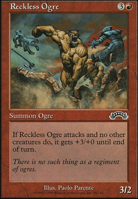 Reckless Ogre