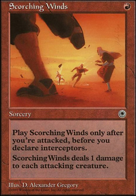 Scorching Winds