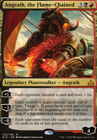 Angrath Discard/Sacrifice (Oathbreaker MTG Deck)
