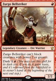 Mono red zurgo 1v1 commander (1v1 Commander MTG Deck)