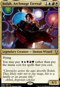Jodah, 5C Monstrosities (Commander / EDH MTG Deck)
