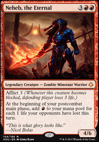 OH LORD JESUS IT'S A FIRE!   Neheb EDH   PRIMER (Commander