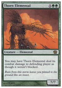 2x Thorn Elemental NEW MTG Dominaria