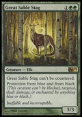 Great Sable Stag