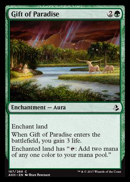 Gift of Paradise (AKH MTG Card)
