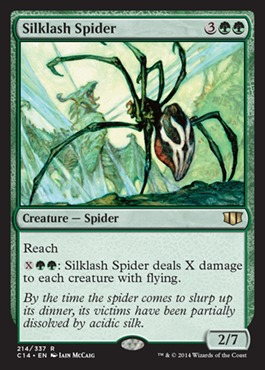 Silklash Spider
