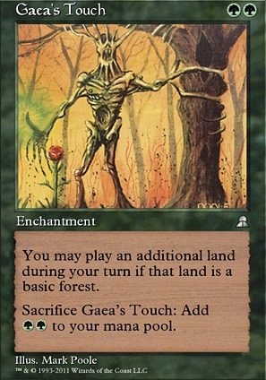 Gaea's Touch