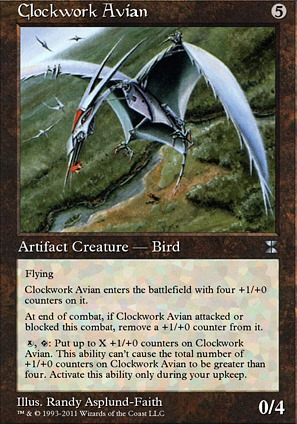 Clockwork Avian