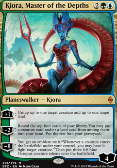 Kiora, Master of the Depths