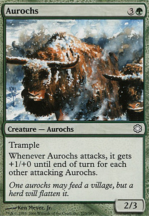 Rimehorn Aurochs Csp Mtg Card