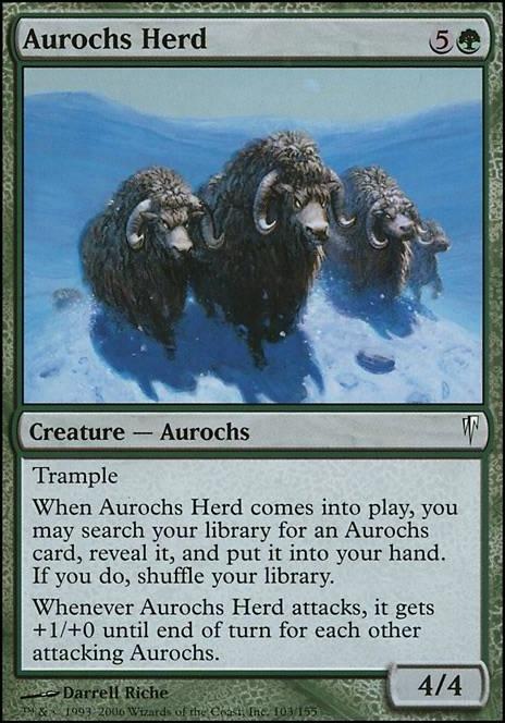 Aurochs Ctd Mtg Card