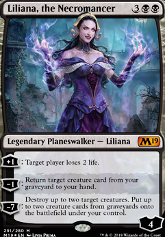 Liliana, the Necromancer