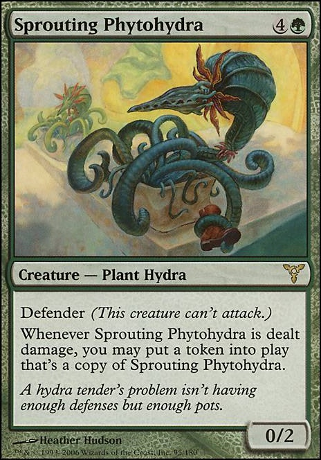 Sprouting Phytohydra
