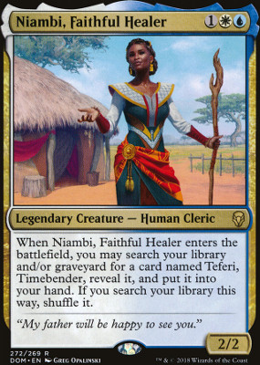 Niambi, Faithful Healer
