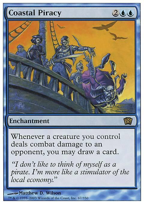 Coastal Piracy 8ed Mtg Card