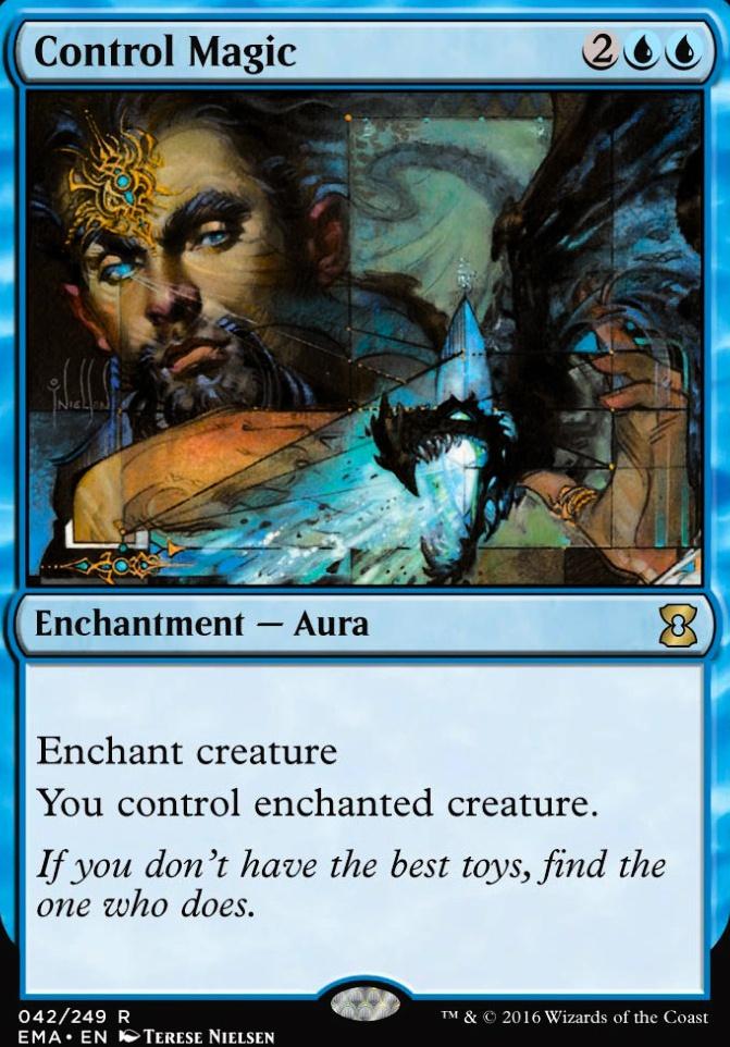 Control Magic Mtg Card