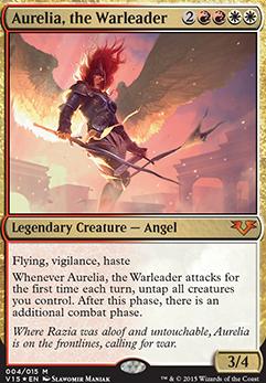 Aurelia, the Warleader...