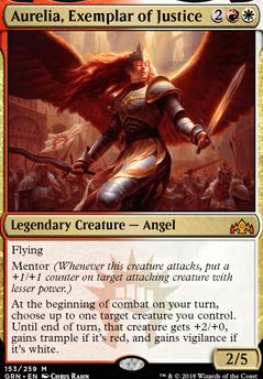 Aurelia, the Warleader (GK1 MTG Card)