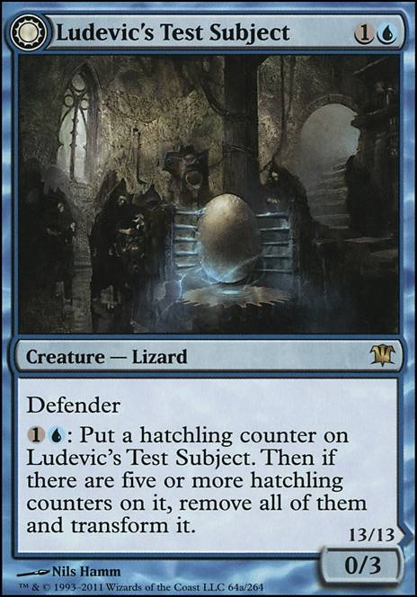 Ludevic's Test Subject