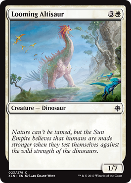 Looming Altisaur