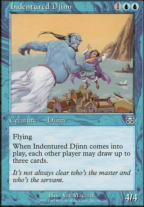 Indentured Djinn