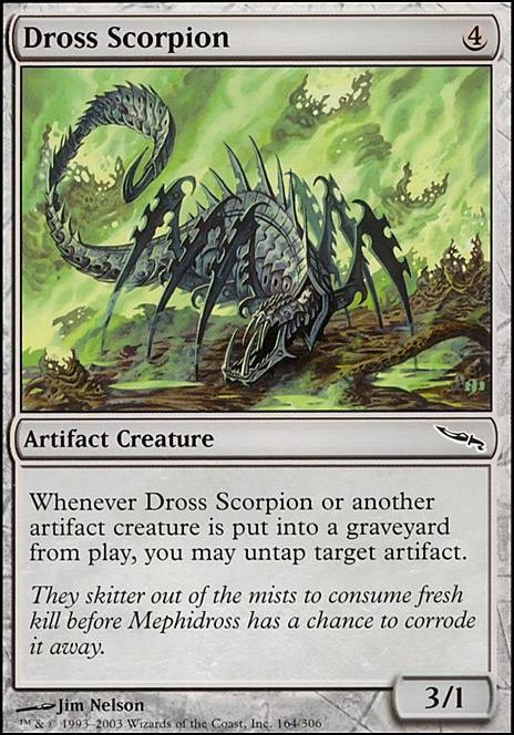 Dross Scorpion