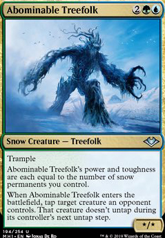 Abominable Treefolk