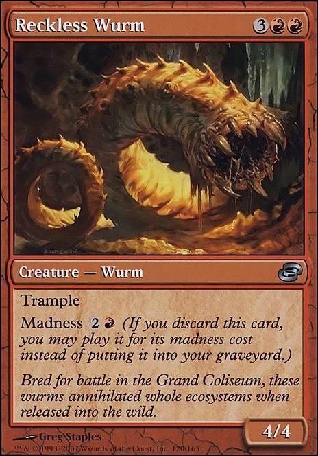 Reckless Wurm Plc Mtg Card