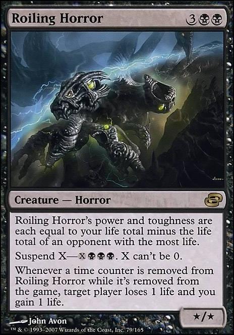 Roiling Horror Plc Mtg Card