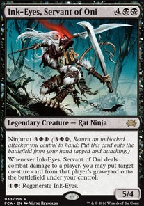 Ink-Eyes, Servant of Oni