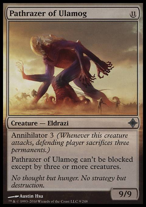 Pathrazer of Ulamog (ROE MTG Card)