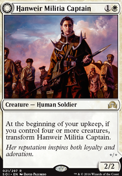 Hanweir Militia Captain