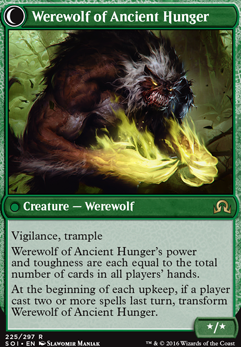 Werewolf of Ancient Hunger