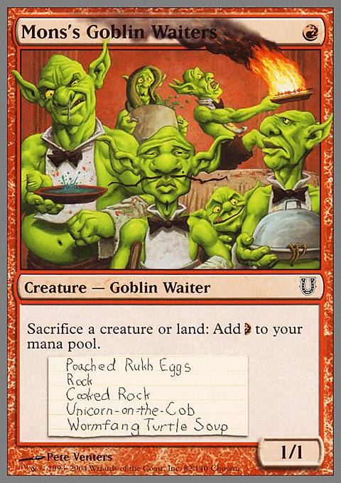 Image result for mons's goblin waiters