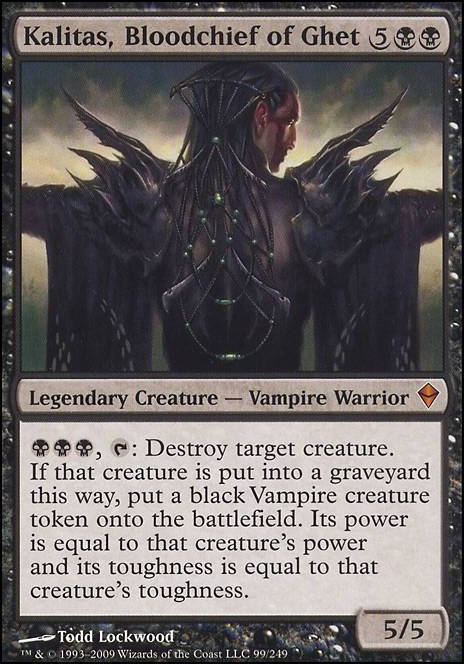 Kalitas, bloodchief of ghett