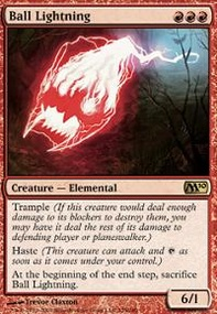 MTG Card: Ball Lightning