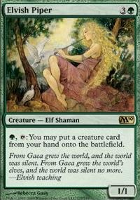 MTG Card: Elvish Piper
