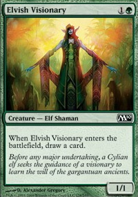 MTG Card: Elvish Visionary