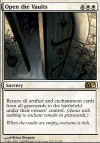 MTG Card: Open the Vaults