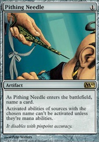 MTG Card: Pithing Needle