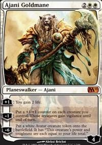 MTG Card: Ajani Goldmane
