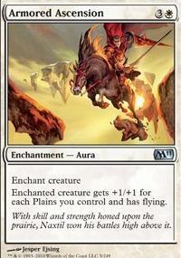 MTG Card: Armored Ascension