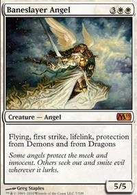 MTG Card: Baneslayer Angel