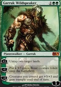 MTG Card: Garruk Wildspeaker