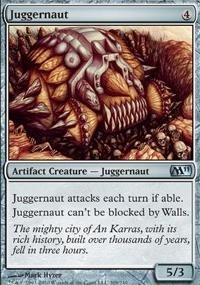 MTG Card: Juggernaut